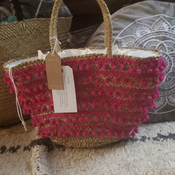 Tote Handmade so unique to you Pink Haley